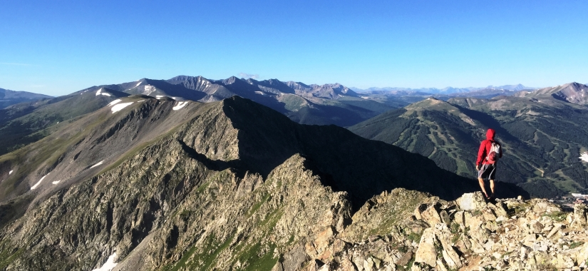 Tenmile Traverse In Photos – by David Yarian