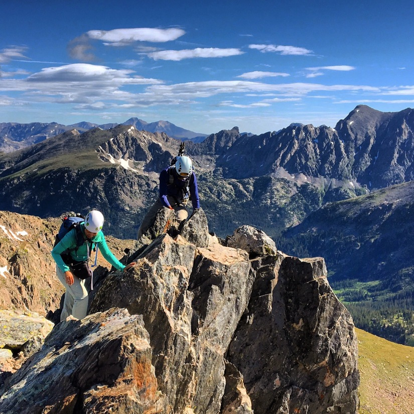 A Dynamic Duo in the Indian Peaks Wilderness – by Doug